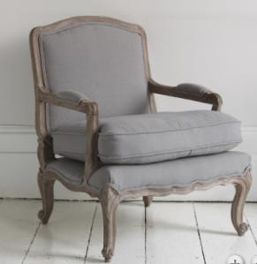 Brissi Strasbourg armchair £645:580