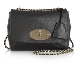 Mulberry = Lily Textured leather £595shoulder bag -