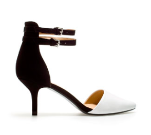 Zara, Vamp Shoe with Ankle Straps. £25.99