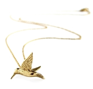 Alex Monroe, Hummingbird Necklace, £132