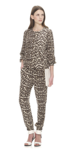 Whistles - Safari leopard print bomber and trousers