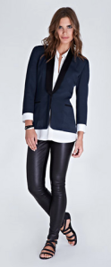 Baukjen- Liv leather legging, £299