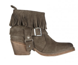 All Saints- Suede Bonny Boot, £165
