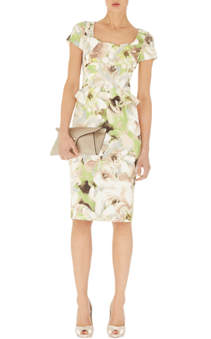 Karen Millen - Signature fit printed pencil, £160
