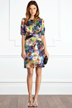 Coast - Multi Winslow Dress, £125