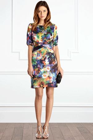 Coast - Multi Winslow Dress, £125