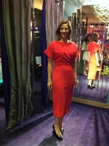 Ted Baker- Haraa pleated side dress, £159