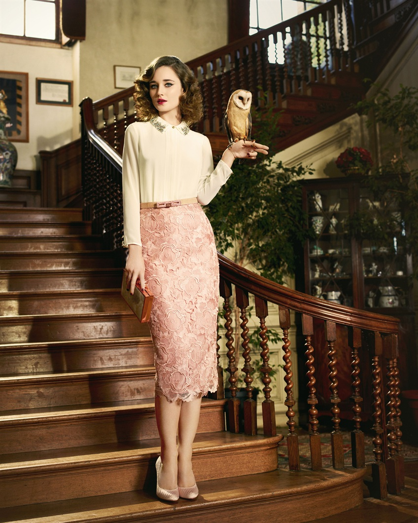 Ted Baker- Novaas lace skirt., £169