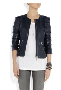 Theysken's Theory- Jadra Leather jacket, £1045