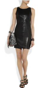 J Brand - Lena leather mini dress, £822