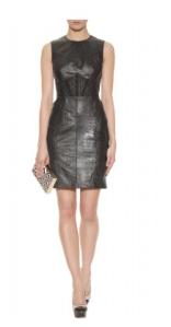 Jason Wu- Leather shift dress with lace panel, £2699