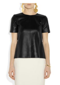 Gucci- Leather t- shirt, £1080