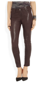 J Brand - Stretch leather skinny pants, £875