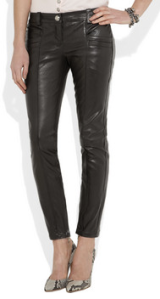 Balmain - Cropped leather skinny pants, £1817