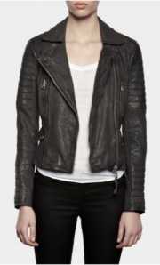 All Saints- Slate leather Biker jacket, £398
