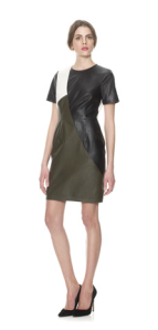 Whistles - Colour block leather dress £375