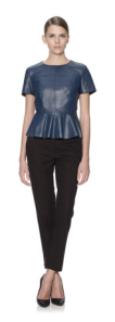 Whistles- Leather peplum, £250