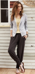 Hush - Long Harem Trouser, £49.50