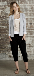 Hush - Cropped harem trouser, £35