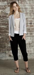 Hush - Cropped harem trouser, £35