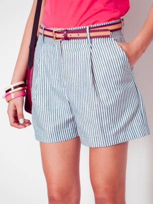& Other Stories - Striped Shorts, £39