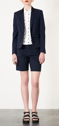 Topshop - Contrast tailored short, £35