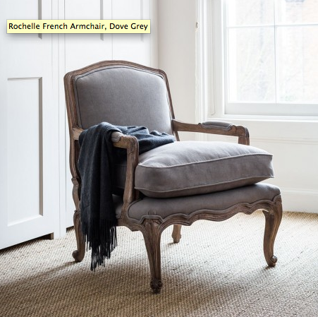 Alison at Home - Rochelle French Armchair, £295