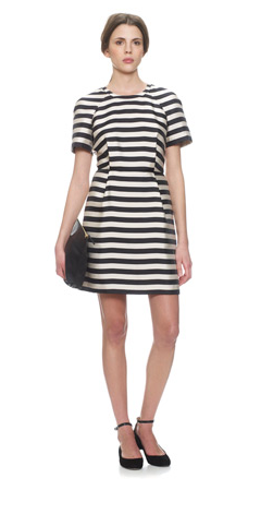 Whistles- Stina Stripe Dress,  £165