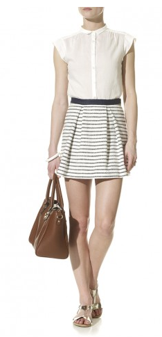 By Marlene Birger- Suave Stripe Skirt, £145
