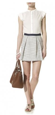 By Marlene Birger- Suave Stripe Skirt, £145